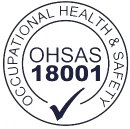 We are OHSAS certified