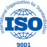 The ISO9001 logo