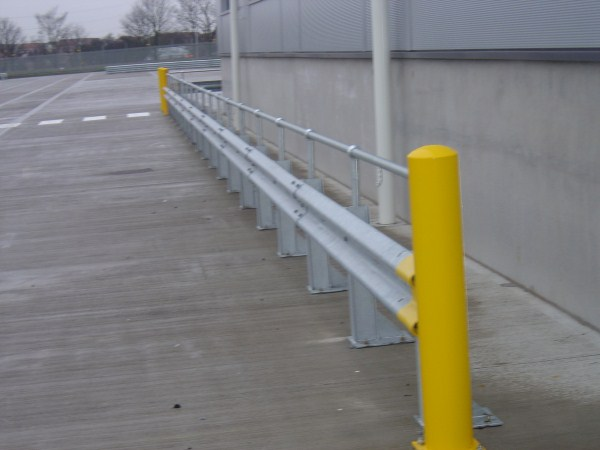 Armco Barrier with Handrail