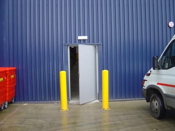 Door Protection Bollards