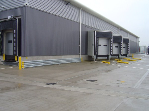 Double Armco Barriers