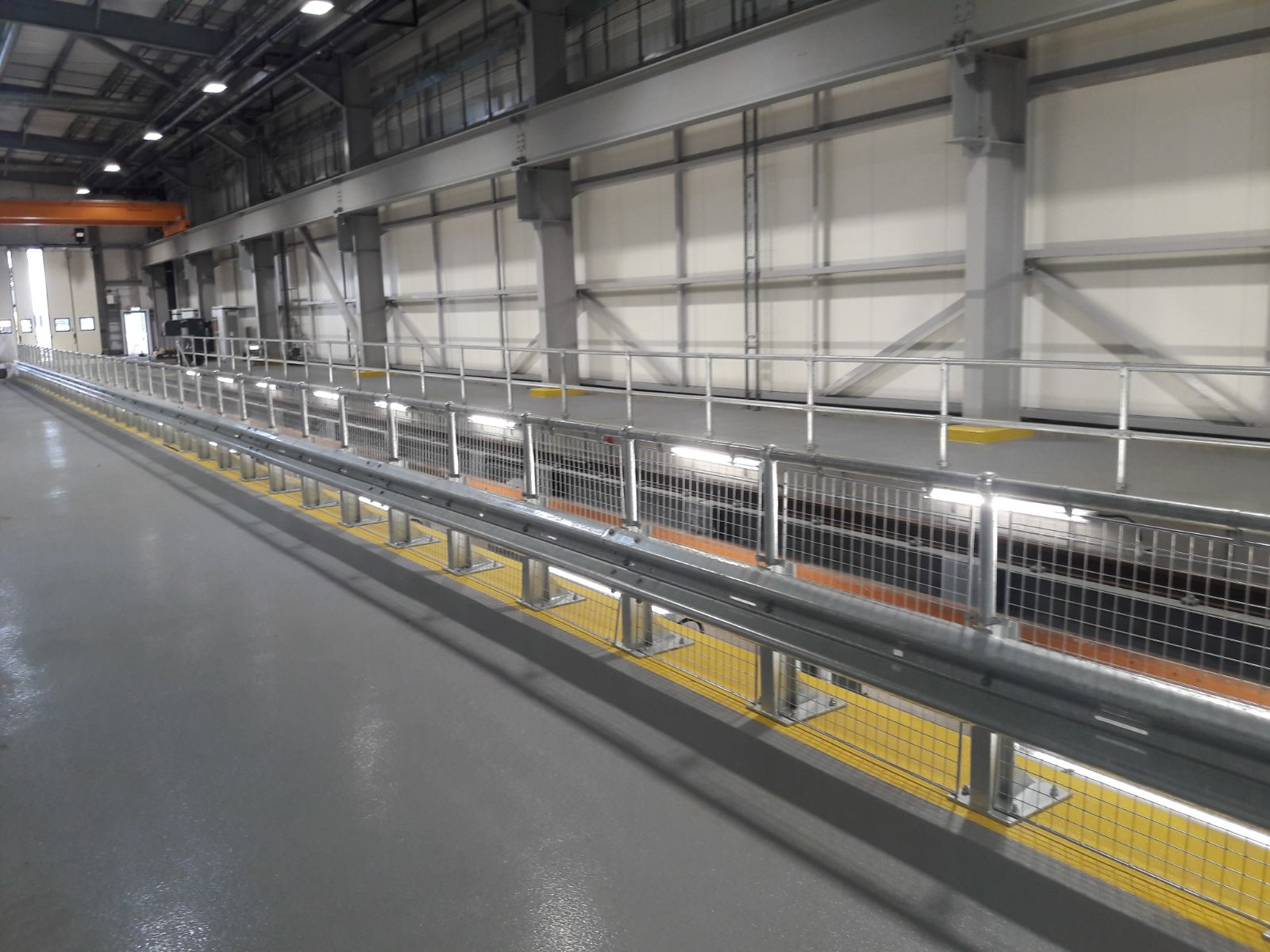 Crossrail depot barriers
