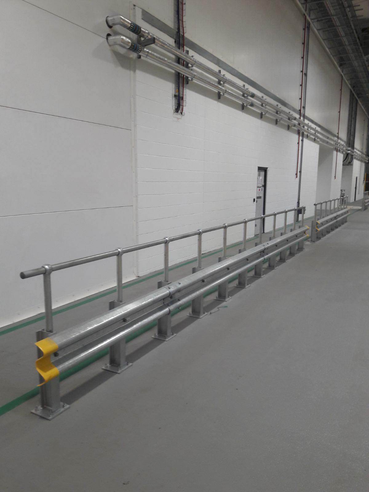 armco with handrail