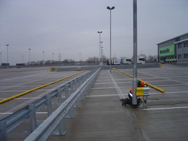 External Armco Barriers